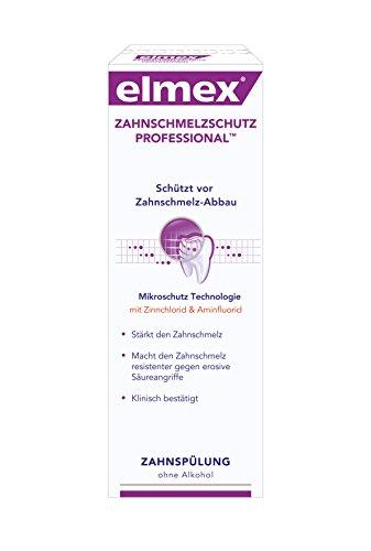 elmex Zahnschmelzschutz Professional Zahnspülung, 2er Pack (2 x 400 ml)