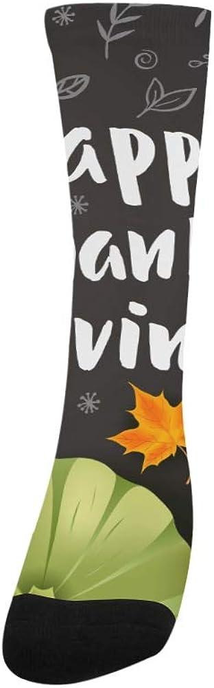 Thanksgiving Day Best Harvest Crazy Dress trouser Sock For Men Women kid