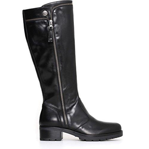 Negro Nero Zapatillas Mujer Giardini Altas nqWwg8w1FA