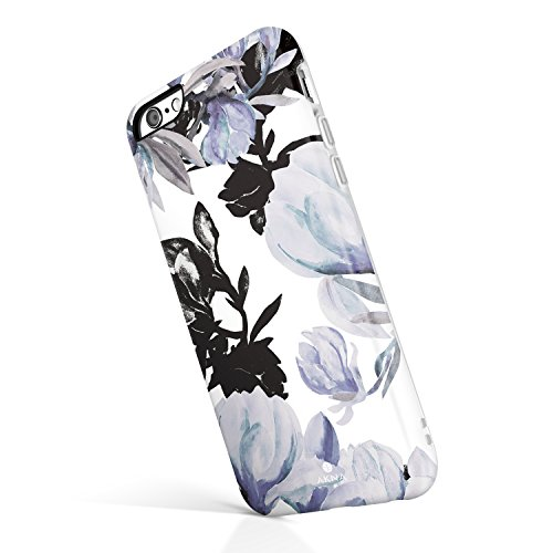 Elegant Magnolia - iPhone 6/6s case for Girls, Akna Collection High Impact Flexible Silicon Case for Both iPhone 6 & iPhone 6s [Elegant Magnolia](743-U.S)