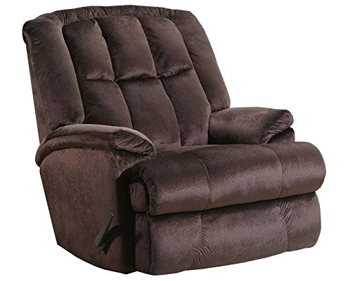 (Lane Clint Big Man Comfort King Wallsaver Recliner in Artemis Chocolate Fabric. Rated for Weights of Up to 500 Lbs. Built As Heavy As The Lane Stallion Recliner. 4503)