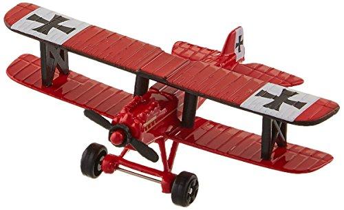 (Daron Worldwide Trading Runway24 Se5 Baron Vehicle, Red)
