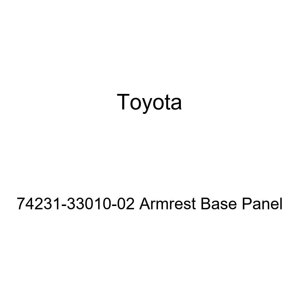 TOYOTA Genuine 74231-33010-02 Armrest Base Panel
