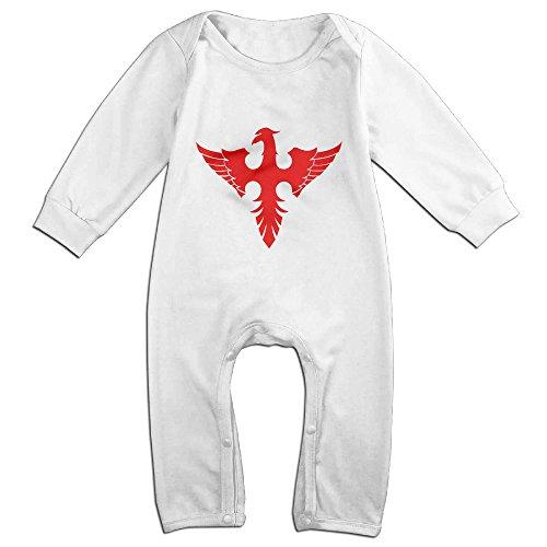 [Dara 30 Seconds To Phoenix Newborn Babys Long Sleeve Baby Climbing Clothes White 12 Months] (Phoenix Costume Diy)