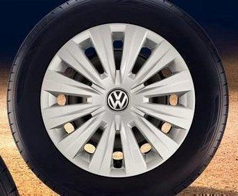 Original Volkswagen Repuesto VW Tapacubos (Golf 7 VII) 15 pulgadas Cubierta de la rueda, original VW Zubehör: Amazon.es: Coche y moto