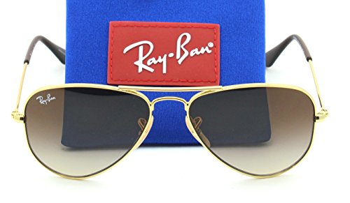 Ray-Ban RJ-9506S 223/13 AVIATOR JUNIOR Gradient Sunglasses, - Ban Baby Ray Sunglasses