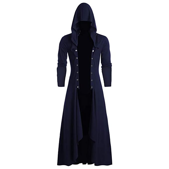 Cappotti e giacche da uomo trench con cappucci neri