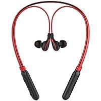 Baseus Kablosuz Sport Bluetooth Kulaklık Encok Neck Hung E16 Kırmızı Siyah