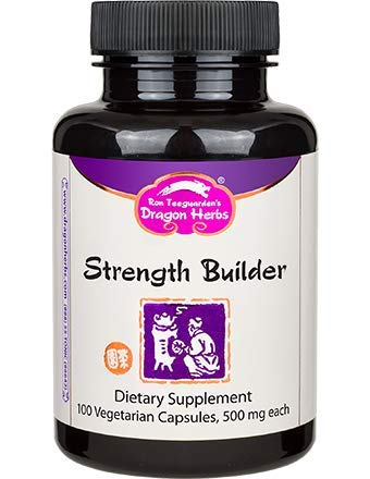 Dragon Herbs Strength Builder – 500 mg – 100 Vegetarian Capsules
