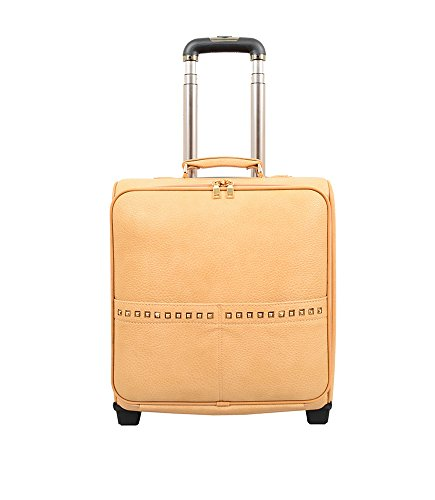 Mellow World Fashion Jovi Carry-on Rolling Suitcase, Khaki by Mellow World
