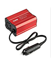 200W Auto Power Inverter 12V 220V en AC 110V Converter Auto Charger Converter Adapter Geplaatst Sinus Golf EU US JP Stopcontact Invoeradapters (Color Name : 12V 220V EU)
