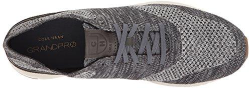 Cole Haan Mens Grandpro Runner Stitchlite Sneaker Grigio Heathered / Tan