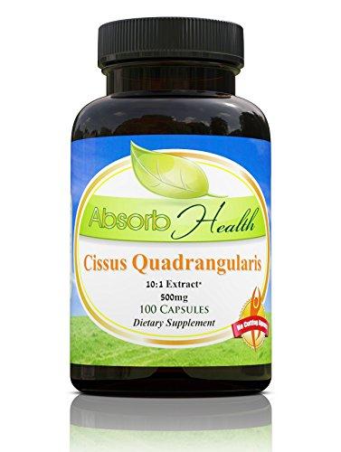 Cissus Quadrangularis 500mg Capsules Powerful