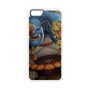 iphone6 plus 5.5 inch White phone case Ogre Magi Dota 2 DOT5202182