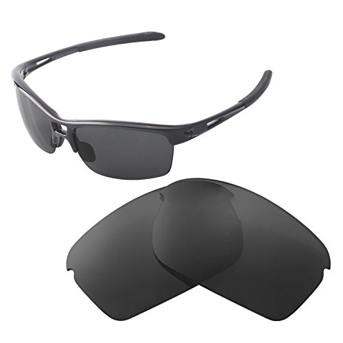 Walleva Replacement Lenses For Oakley RPM Squared Sunglasses - Multiple Options available (Black - - R Sunglasses P