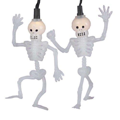 Kurt Adler 10-Light Dancing Skeleton Light Set