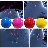 4 Color Fluorescent Sticky Target Balls Pressure