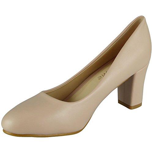 Ordinaire Haut Femmes Du Des Taille Travail La 8 Regarder De Bureau Nouvelle Cour Dames Mi Groupe 3 De Des Chaussures Rose De Talon Carré Occasionnel 8IdZqnwF