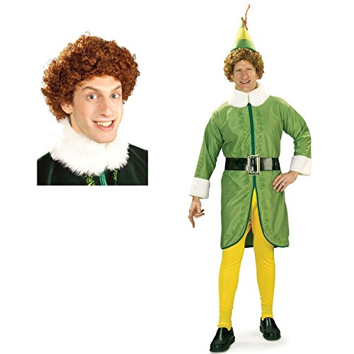 Buddy the Elf Costume Bundle Set (Buddy The Elf Costume)