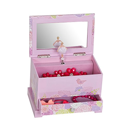 Mele & Co. Piper Girl's Musical Ballerina Jewelry Box (Bird & Blooms Design) by Mele & Co. (Image #3)
