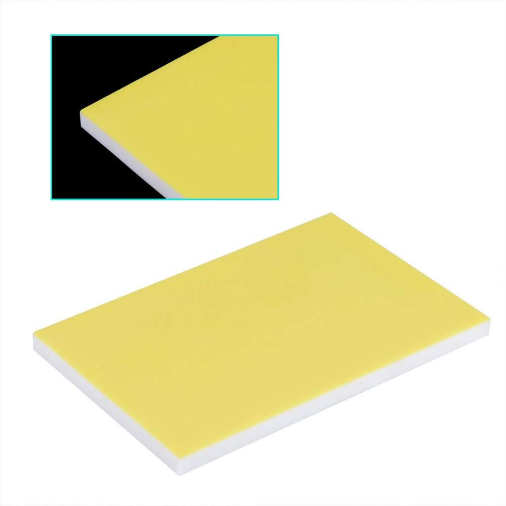 Rubber Stamp Carving Blocks,Colored Sandwich Rubber Stamp Carving Block for DIY Stamp Blue White