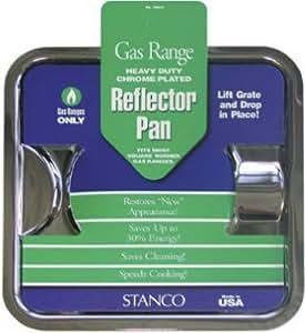 Amazon Com Stanco Gas Range Reflector Pan Universal