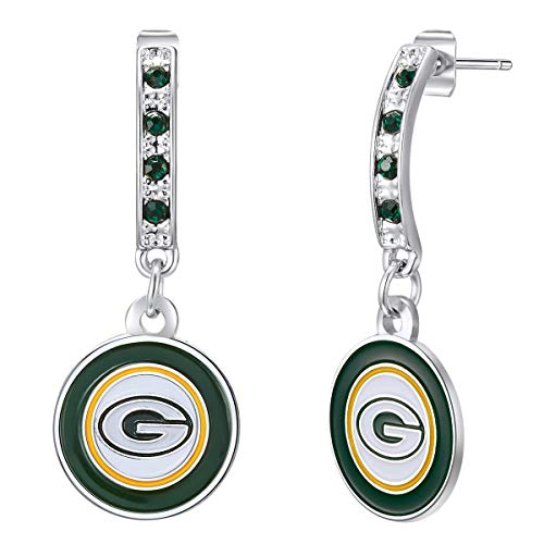 NFL Green Bay Packers Bar Post Earrings