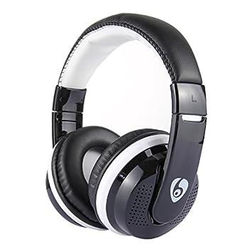 Mr.Gadget Solutions MX666 - Auriculares estéreo inalámbricos para Xiaomi Sony (Bluetooth, HiFi, micrófono, Radio FM), Color Negro: Amazon.es: Electrónica