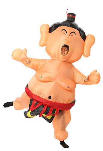 GOPRIME Sale Now !! Rikishi Sumo Inflatable Costumes (Mr. T) ()