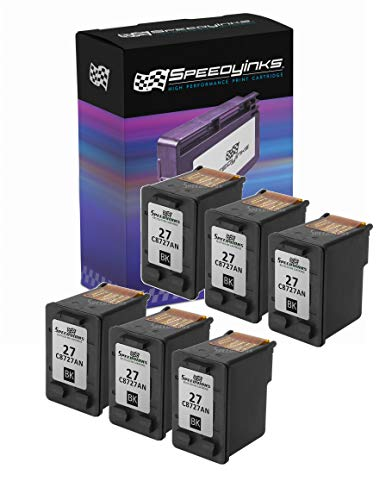 Speedy Inks Remanufactured Ink Cartridge Replacement for HP 27 (Black, ()