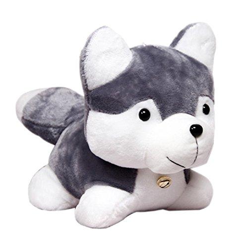 Ayiqi Cute Baby Kids Soft Stuffed Animal Doll Plush Husky Dog Toy Christmas Birthday Gift 10'' Dog 10' Plush