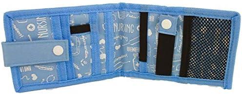 MINIKEENS Organiseur//pochette d/'infirmier Mobiclinic Bleu /à motifs