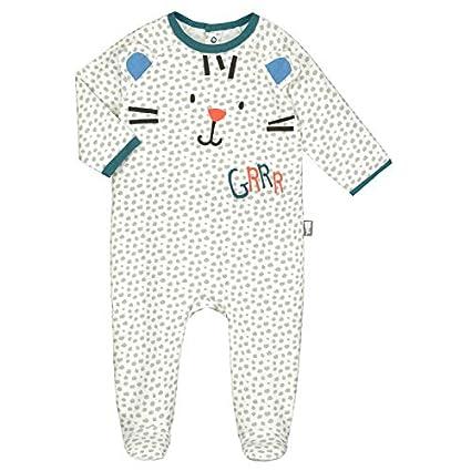ccf72b00d5965 Petit Béguin - Pyjama bébé Roots - Couleurs - Ecru