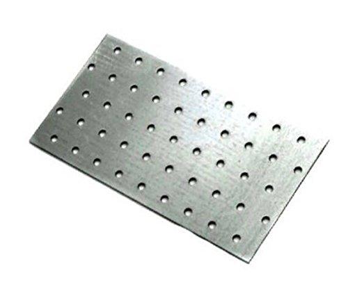 Nagelplatte Holzverbinder Lochplatte 400 mm x 200 mm x 2 mm