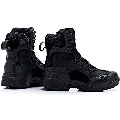 Stivale Militare Tattico Desert Militare Da Combattimento Stivali Uomo Nero Militare