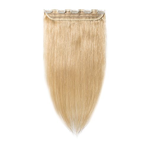 100% Remy Clip in Hair Extensions Natural Hair 16-22 inch Grade AAAAA 3/4 Full Head 1 piece 5 clips Long Smooth Silky Straight for Women Fashion 20