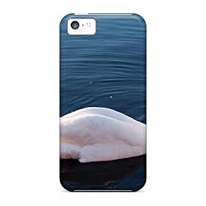 New Diy Design Swan In Widescreen For Iphone 5c Cases Comfortable For Lovers And Friends For Christmas Gifts