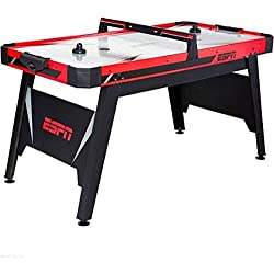 "ESPN, 60"" Air- Powered Hockey Table and Great Recreational Activity for All Ages"
