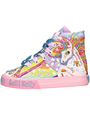 Lelli Kelly Mid linnen schoenen, eenhoornmotief