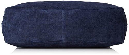 Mujer Bolso Ombre Bag de Femme Blue Hombro Sfsade Selected Suede Azul wqp0Iq7