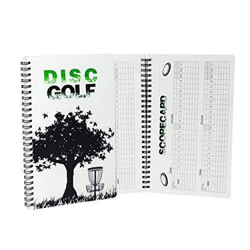 CardNoter Disc Golf Scorekeeper Notebook, 110 Rounds for 6 Players, Wire ()