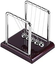 Balance Balls Toy,Steel Balance Swinging Magnetic Ball Cradle Physics Science Pendulum Desk Fun Toy Gift
