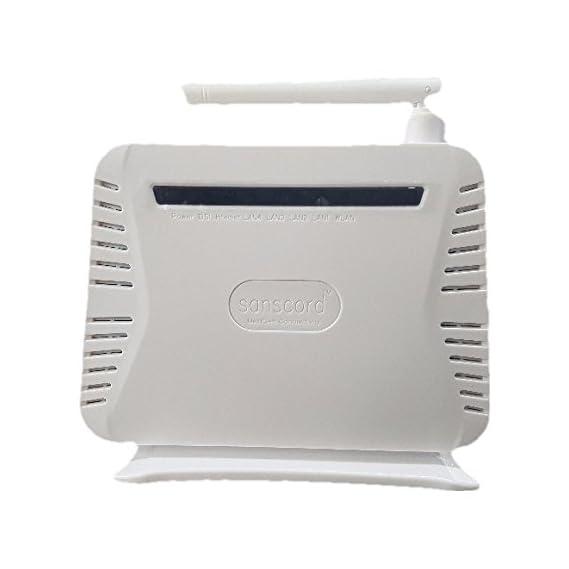 Tfpro ADSL Internet Phone Filter Splitter Broadband Modem Box SP-2008 with RJ11 Cable 1.5 M (Pack of 3 Pcs)