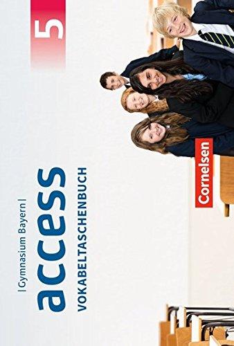 Access - Bayern: 5. Jahrgangsstufe - Vokabeltaschenbuch