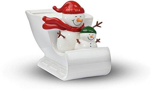 Teleflora Christmas Planter (Snowman Open Sleigh ()