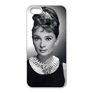 Audrey Hepburn iPhone5s Cell Phone Case White gift pp001_6255278