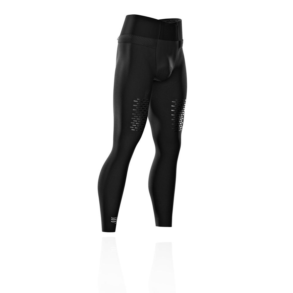 Compressport Under Control Trail Running Full Tight - SS19 - Medium - Black by Compressport (Image #1)