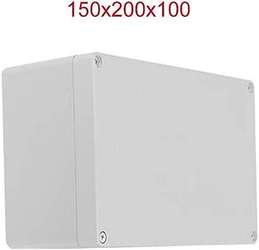 Caja de conexiones de plástico BE-TOOL IP65 ABS blanco resistente ...