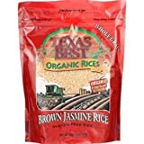 TEXAS BEST ORGANIC RICE BROWN JASMINE 32 OZ