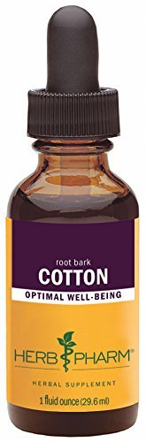 Root Bark Extract Cotton (Herb Pharm Cotton Root Extract - 1 Ounce by Herb Pharm)